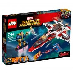 Lego 76049 Super Heroes : Avengers : La mission spatiale dans l'Avenjet