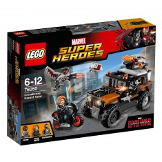 Lego 76050 Super Heroes : Captain America Civil War : L'attaque toxique de Crossbones