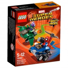 Lego 76064 Super Heroes : Mighty Micros : Spider-Man contre le Bouffon Vert