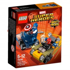 Lego 76065 Super Heroes : Mighty Micros : Captain America contre Crâne Rouge