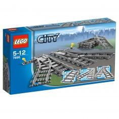 Lego 7895 City : Les aiguillages