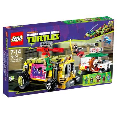 Lego 79104 Tortues Ninja : La Course-poursuite en Shellraiser - Lego-79104