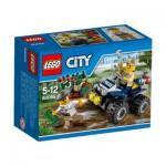 Lego City 60065 : Le 4x4 du policier des marais