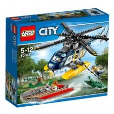 Lego City 60067 : La poursuite en hélicoptère
