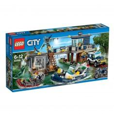 Lego City 60069 : Le poste de police des marais