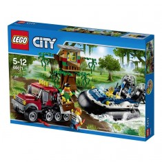 Lego City 60071 : Arrestation en hydroglisseur