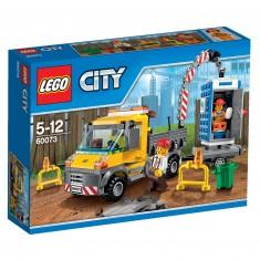 Lego City 60073 : Le camion grue