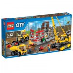 Lego City 60076 : Le chantier de démolition
