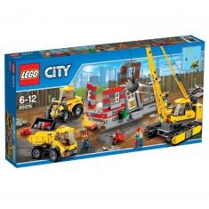 Lego City 60076 : Le chantier de démolition