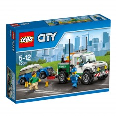 Lego City 60081 : Le pick-up dépanneuse