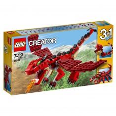 Lego Creator 31032 : Les créatures rouges
