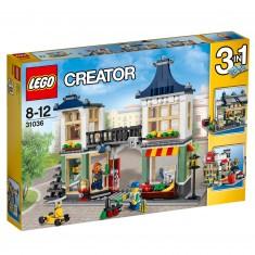 Lego Creator 31036 : Le magasin de jouets et l'épicerie