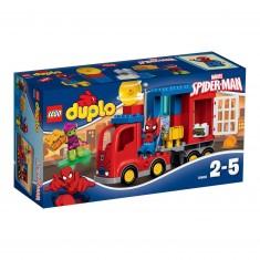 Lego Duplo Super Heroes 10608 : L'aventure de Spider-Man en camion araignée