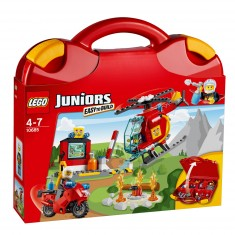 Lego Juniors 10685 : La valise Pompiers