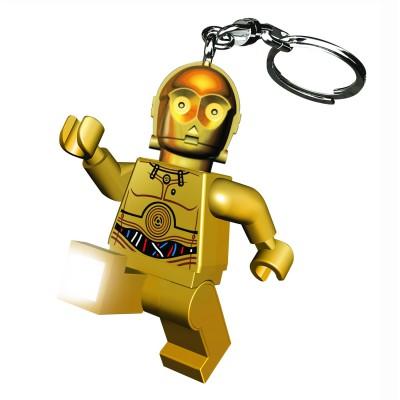 Porte-clés Figurine Lego Star Wars : C3P-O - Lego-LG0KE18