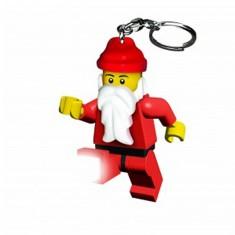 Porte-clés Figurine Lego : Père-Noël