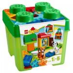 Lego 10570 Duplo : Boîte de briques et d'animaux