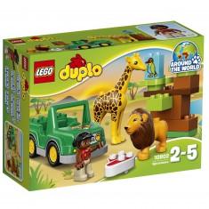 Lego 10802 Duplo : Les animaux de la savane