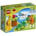Lego 10801 Duplo : Les bébés animaux du monde