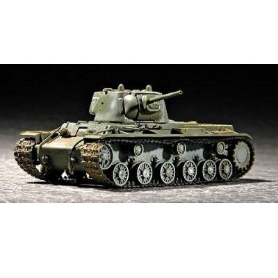 Maquette Char lourd soviétique KV-1 1942: Blindage allégé - Trumpeter-TR07233