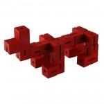 Casse-tête Flexi Cube : Rouge