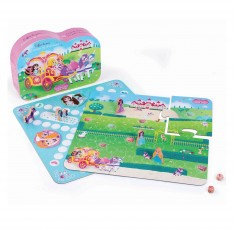 Coffret de jeux Licornes et princesses