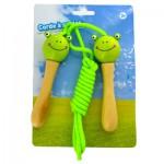 Corde à sauter grenouille verte