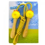Corde à sauter poussin jaune