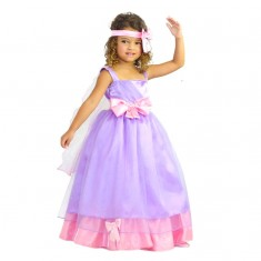 Déguisement de princesse : Robe de Princesse Lisa : 5/7 ans