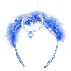 Diadème bleu