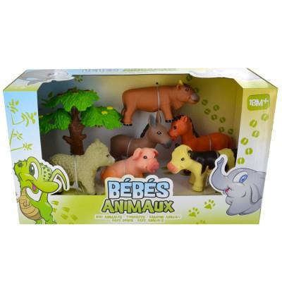 figurines b b s animaux la ferme jeux et jouets lgri avenue des jeux. Black Bedroom Furniture Sets. Home Design Ideas