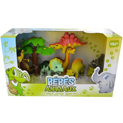 figurines b b s animaux les dinosaures jeux et jouets lgri avenue des jeux. Black Bedroom Furniture Sets. Home Design Ideas