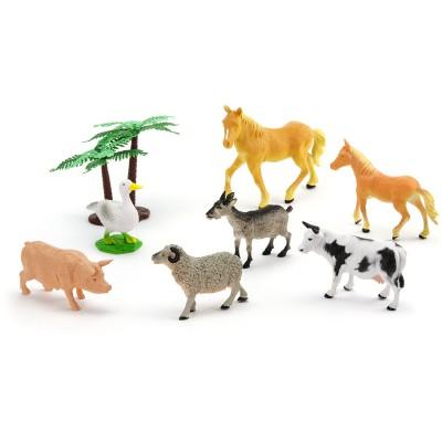 figurines chevaux et autres animaux de la ferme. Black Bedroom Furniture Sets. Home Design Ideas