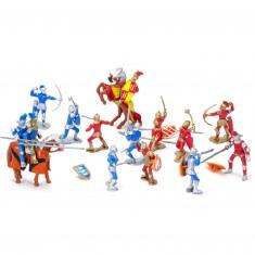 Figurines Les chevaliers du Temple