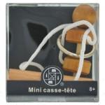 Mini Casse-Tête bois, métal et corde n°4