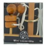 Mini Casse-Tête bois, métal et corde n°5