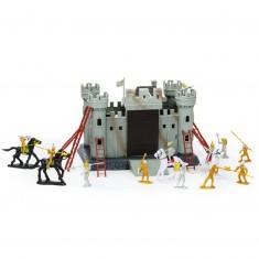Mini château et chevaliers
