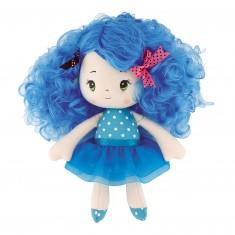 Poupée Chiffon : Petite fille bleue