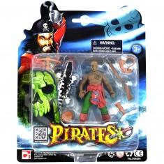 Set figurines Pirates : Pirate et crocodile