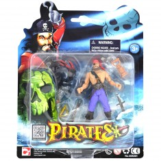 Set figurines Pirates : Pirate et scorpion