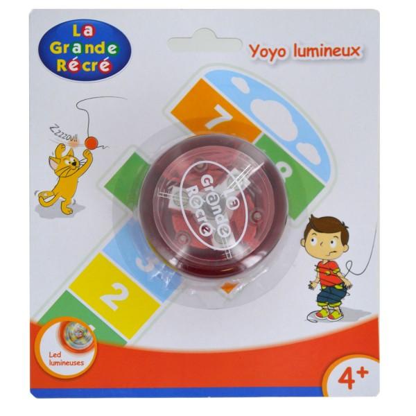 Yoyo lumineux rouge - LGRI-LGR6226N-Rouge