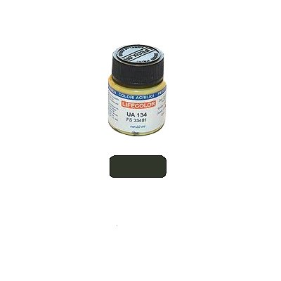 UA111 - Vert olive foncé - FS 34052 - Lifecolor-UA111