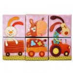 Cubes Puzzles Nicky le canard : Cub'Uzzle