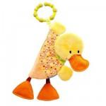 Imagier avec hochet Nicky le canard