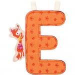 Lettre décorative : Alice la renarde : Lettre E