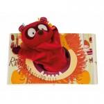 Livre Ohey Peanuts avec marionnette Georges le lémurien