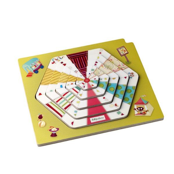 Puzzle Circus puzzle show - Lilliputiens-86430