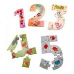 Puzzle Recto/Verso 15 pièces : 12345 Puzzle !
