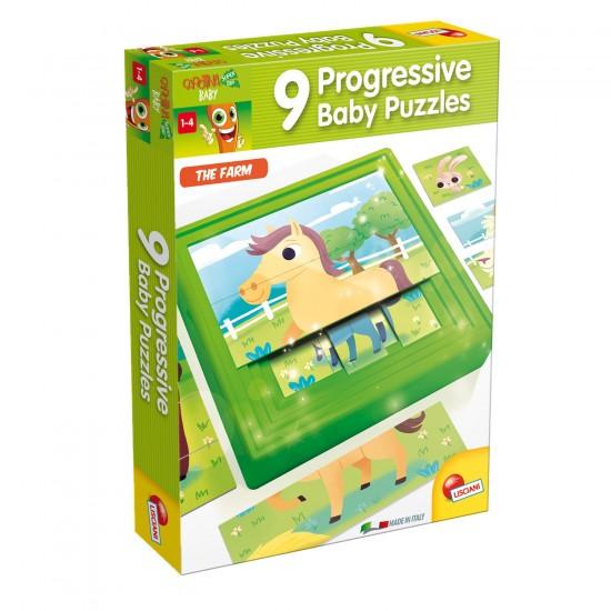Puzzle progressif : La Ferme - Lisciani-47420