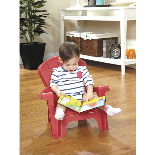 chaise de jardin rouge pour enfant jeux et jouets little. Black Bedroom Furniture Sets. Home Design Ideas